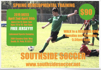 Spring Soccer Development