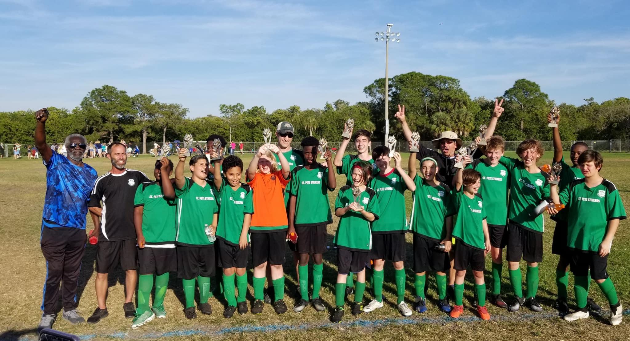 Southside soccer U14 champions